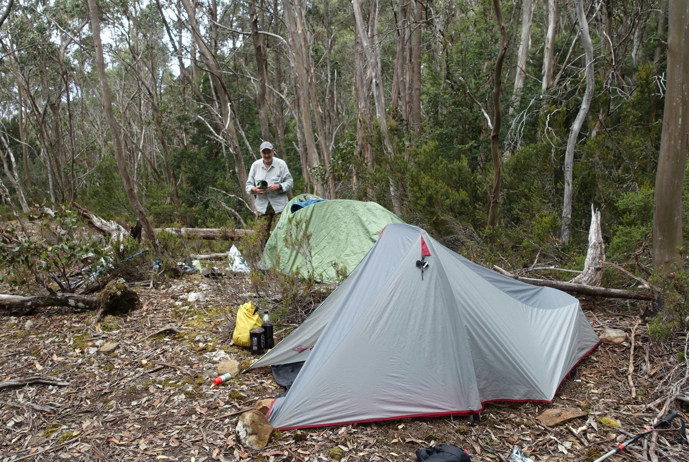 campsite night #1