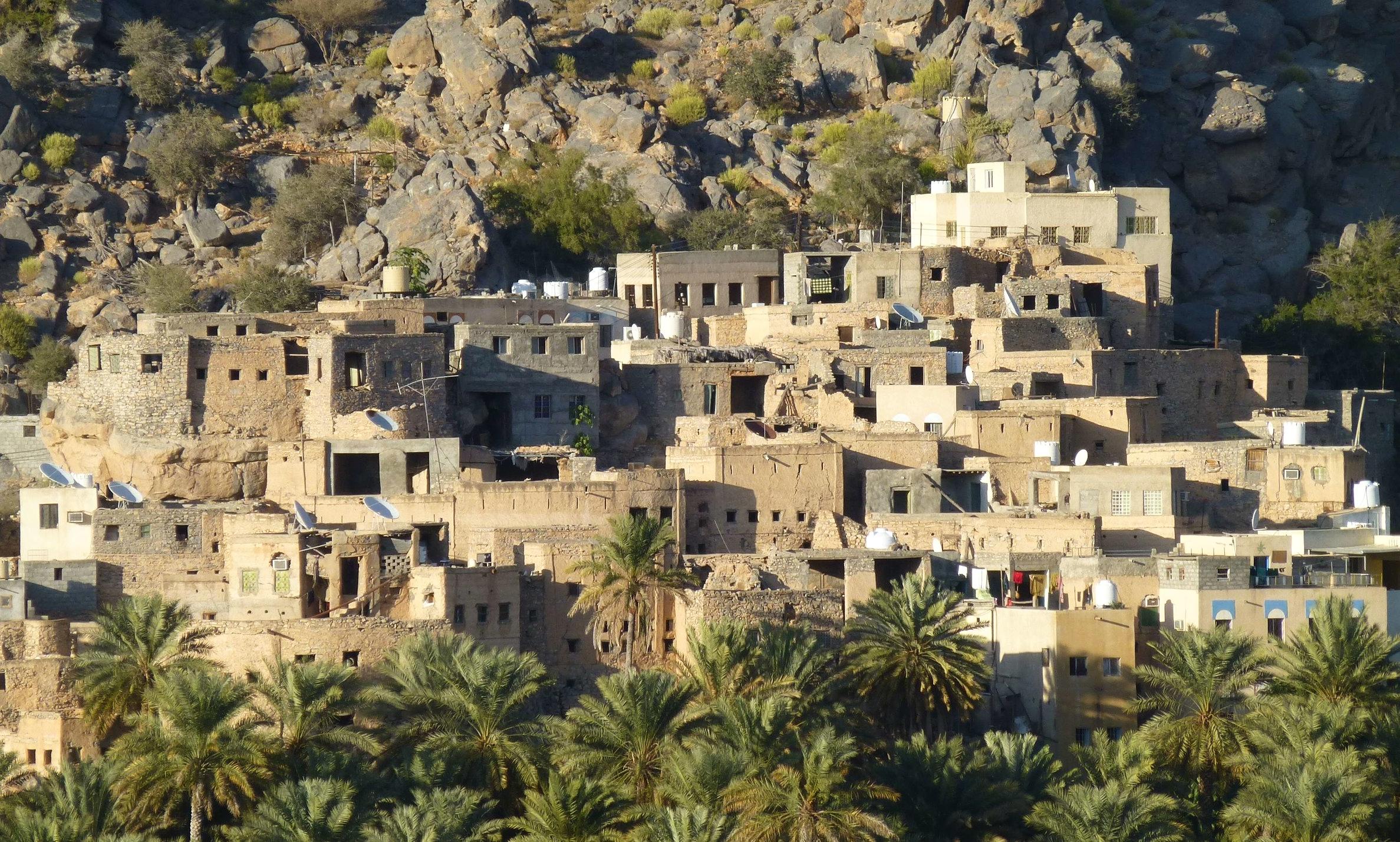 misfat - traditional Omani village