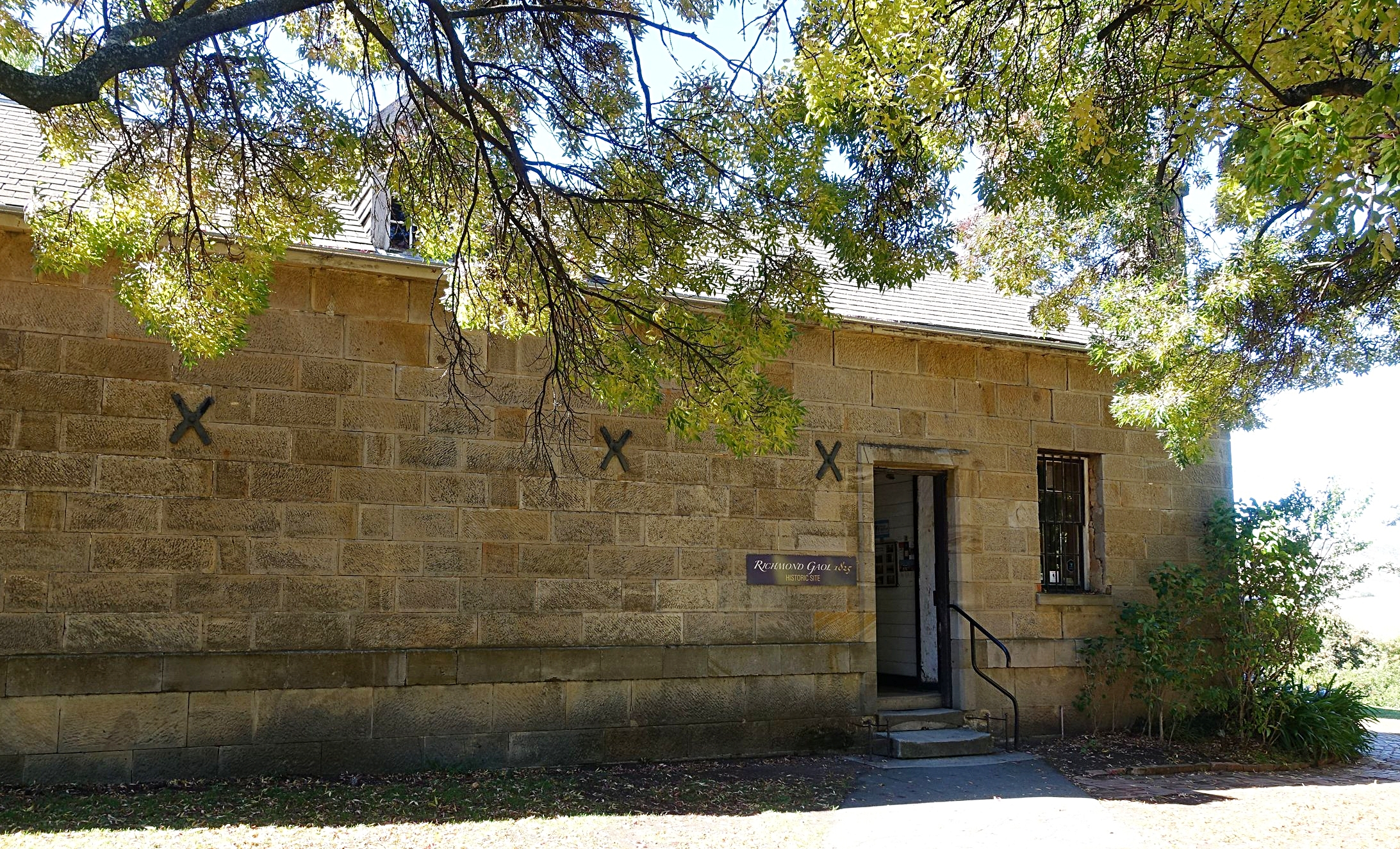 Richmond gaol historic site