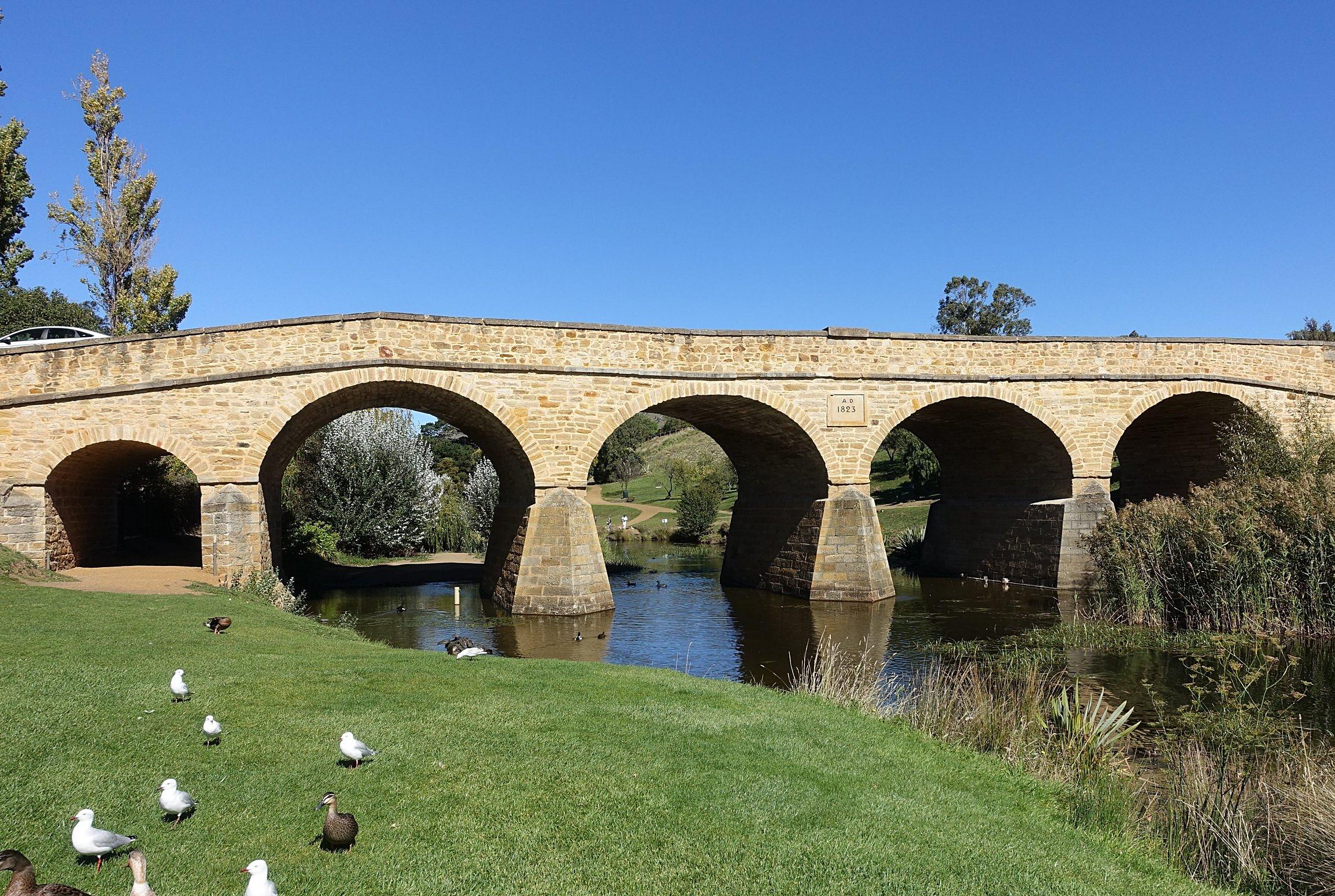Richmond bridge - Australia's oldest