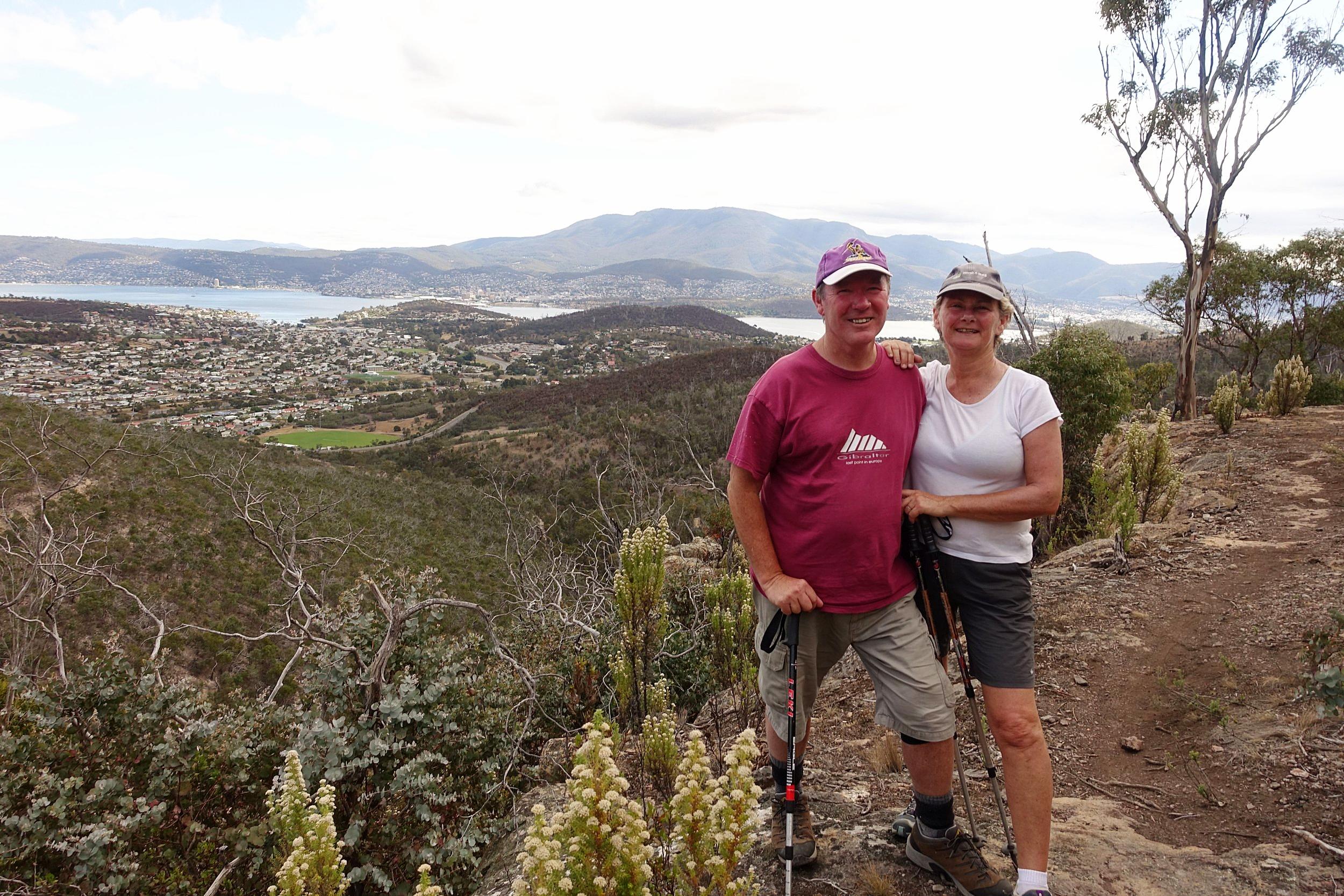 hiking in the meehan range - eastern shore