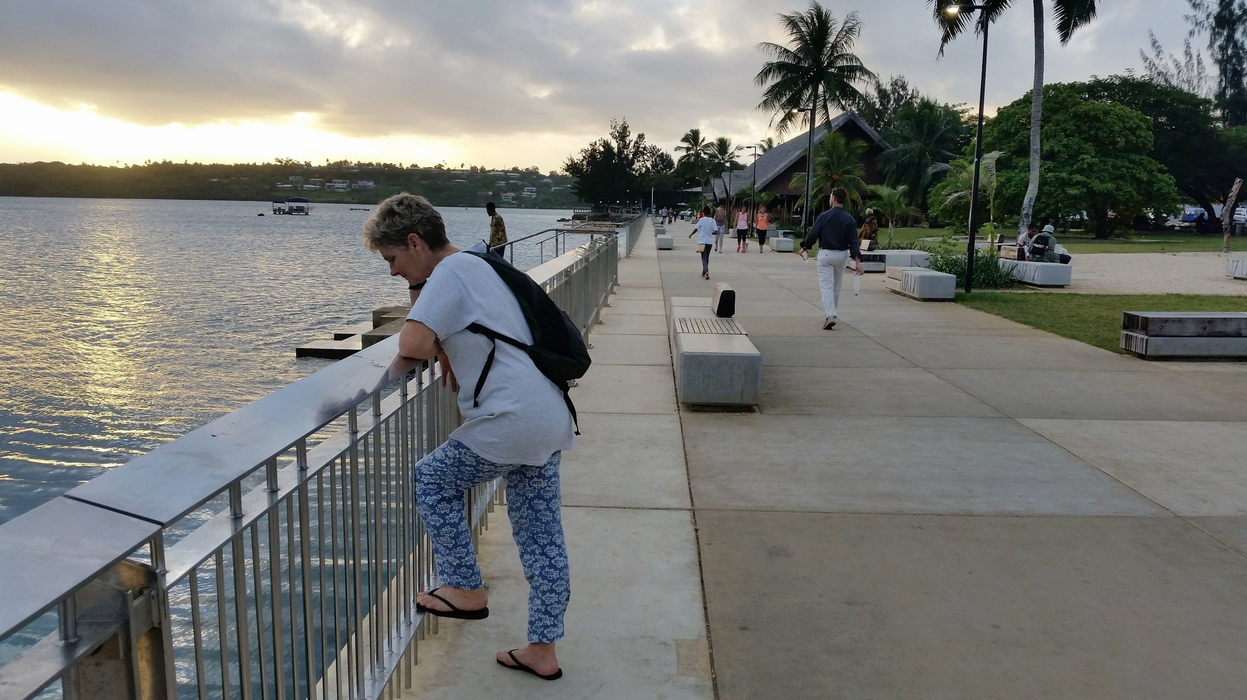 the promenade in port vila