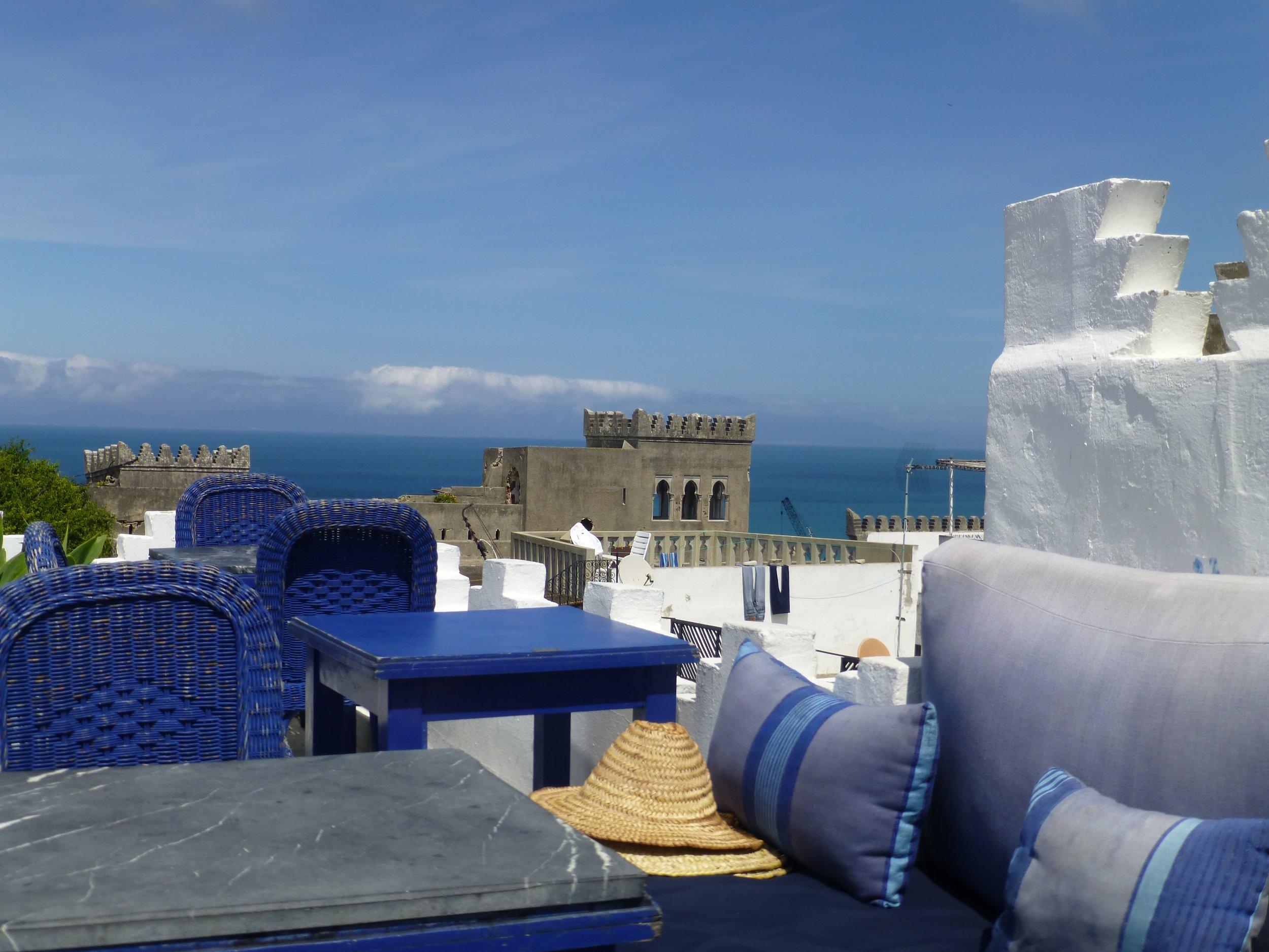 rooftop restaurant in tangier