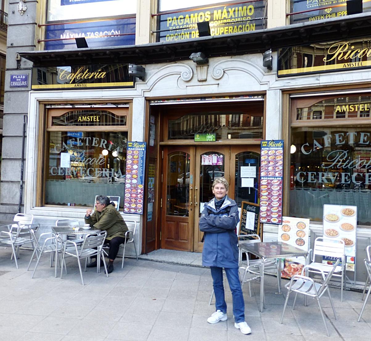 madrid café and cerveceria