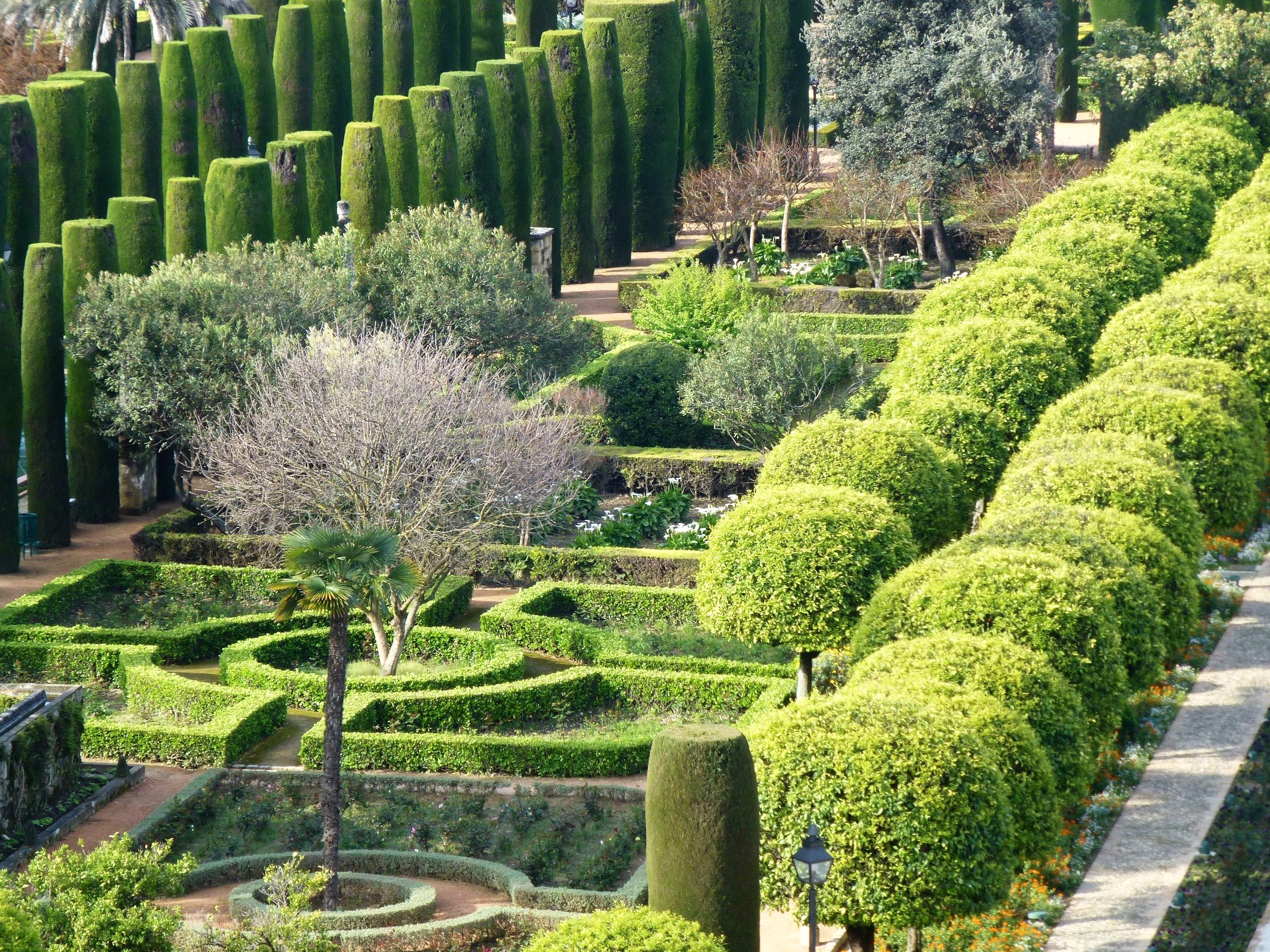 gardens of alcazar de los reyes cristianos