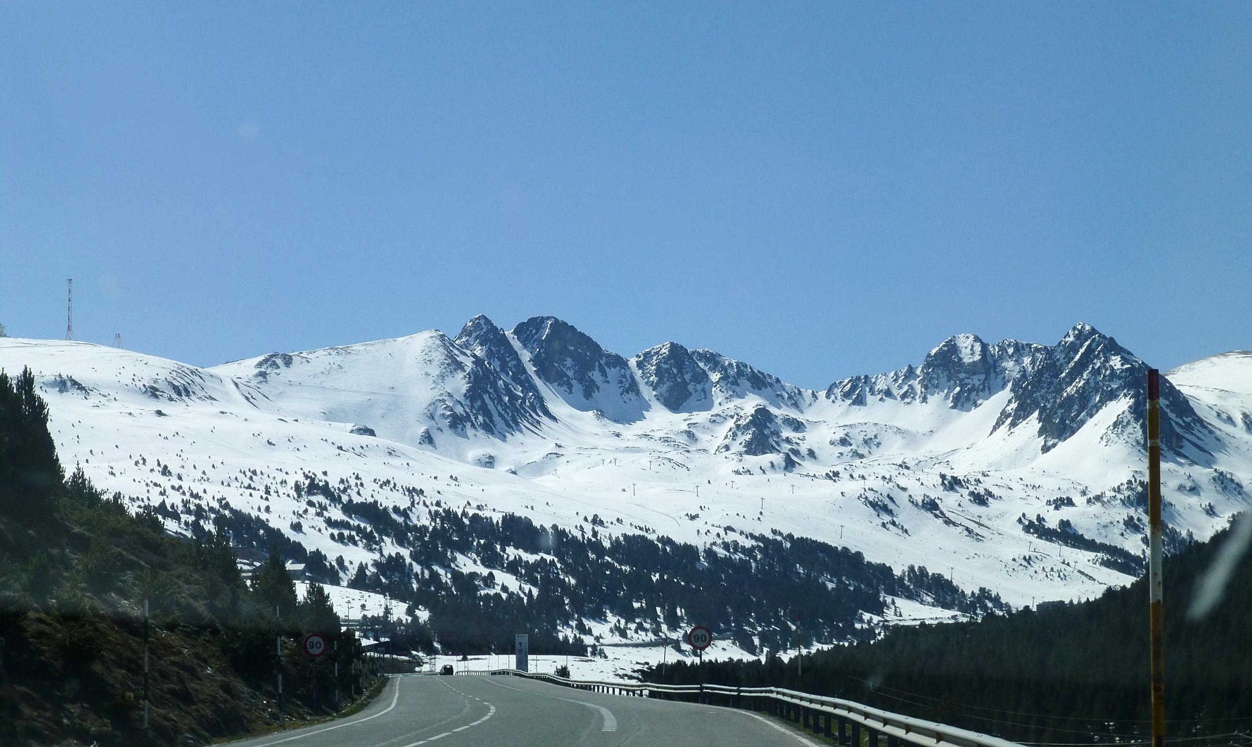 the pyrenees, andorra