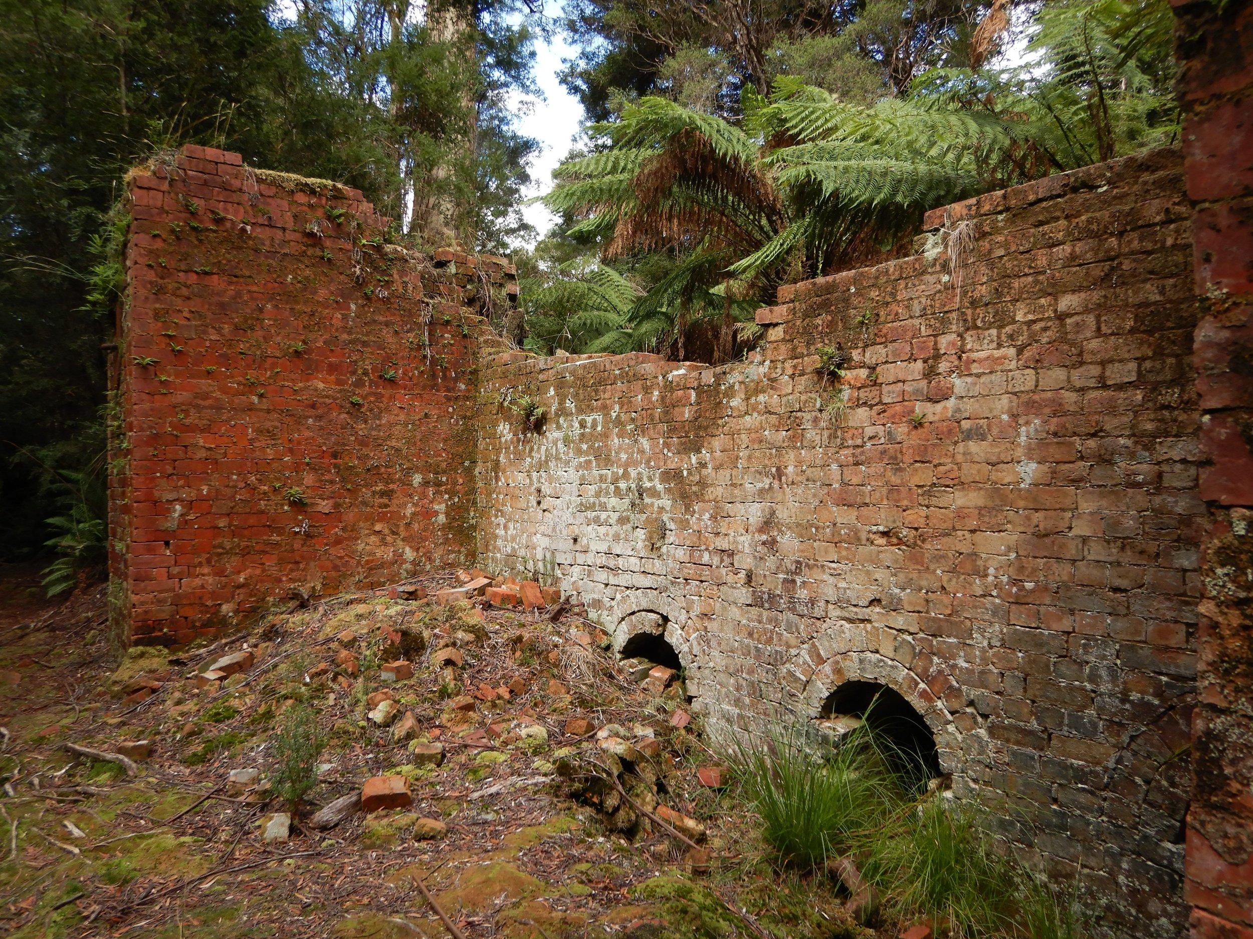 old brick kilns