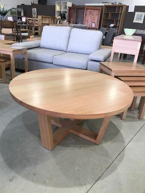 Byron coffee table in Tasmanian Oak , any size