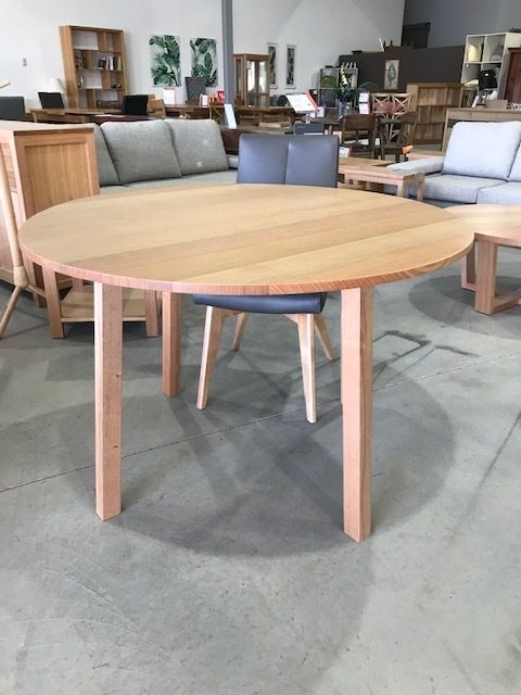 Coco round dining table , tas oak can be made any size