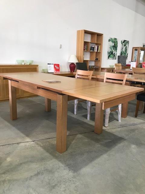 Nova ext table tas oak 1500- ext to 2500