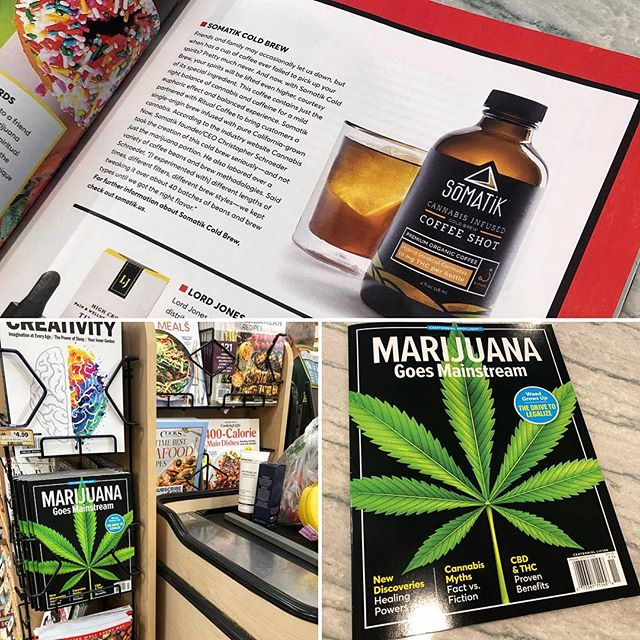 #Marijuana goes #Mainstream. This is the dream. The #CentennialSpotlight caught in the wild at @sprouts with a nice shoutout to @besomatik! #legalizeit #cannabiscommunity #cannabisstartups #medicalmarijuana #factvsfiction #healing #cbd #thc #gtwy02