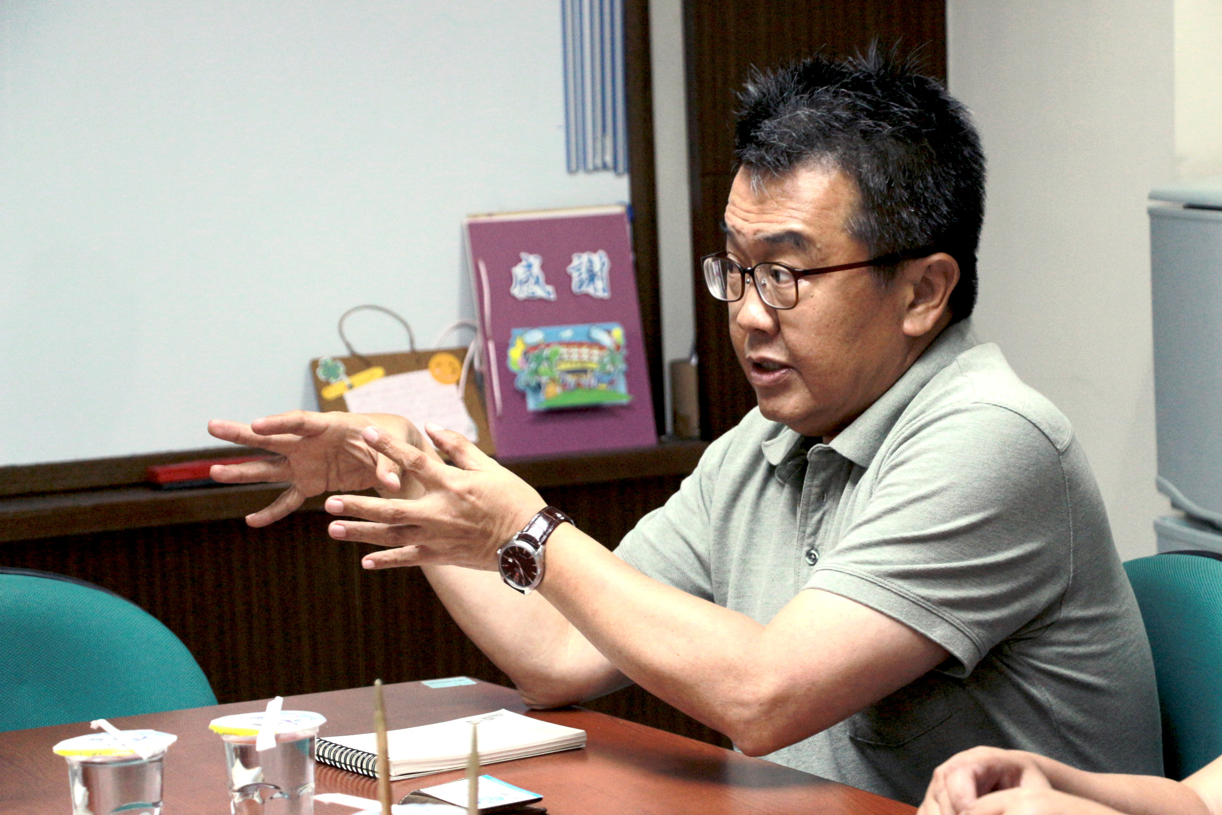 台灣逆轉聯盟協會 劉宜中理事長