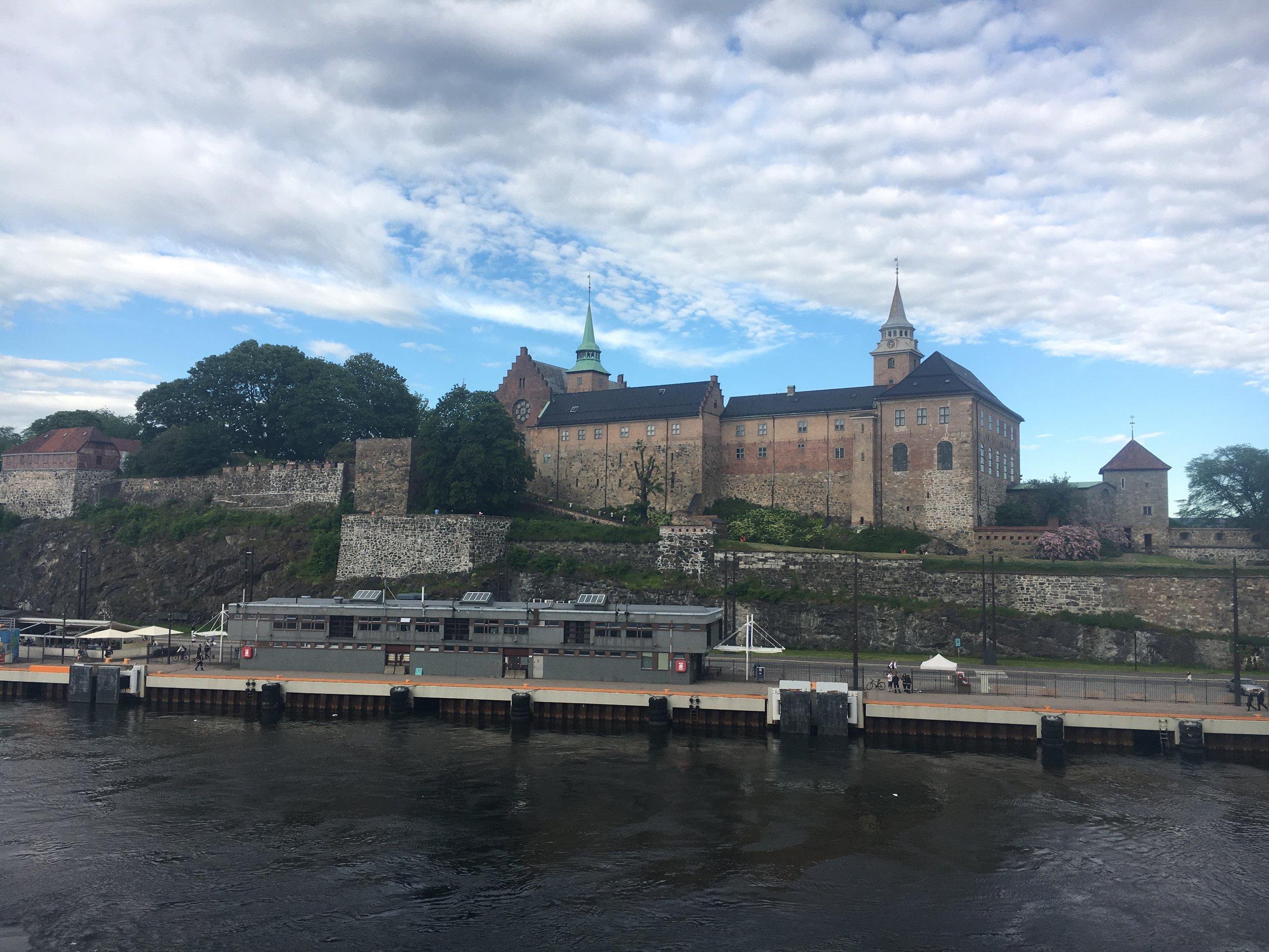 Departing Oslo.