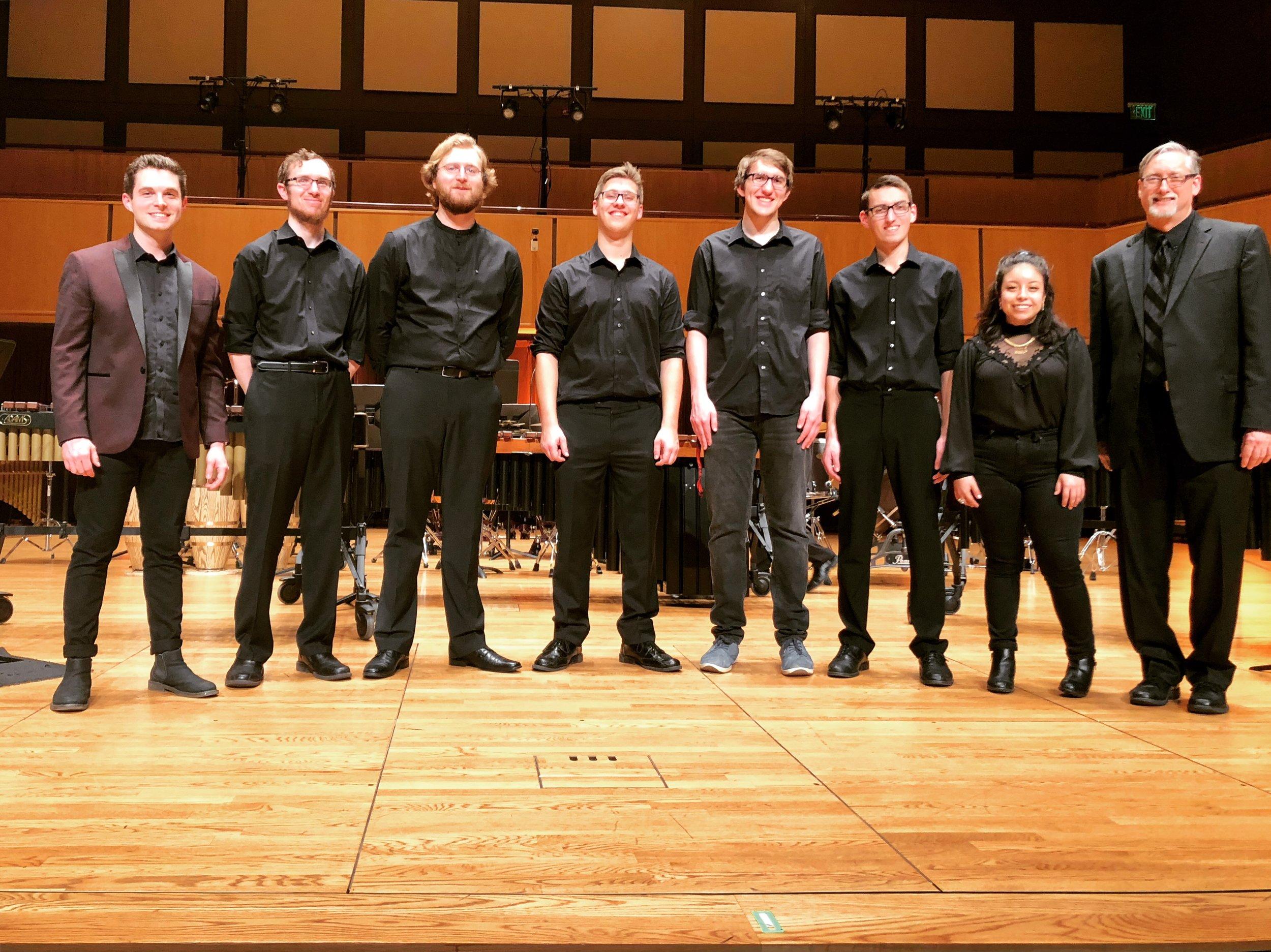 Purdue University Fort Wayne, post-concert