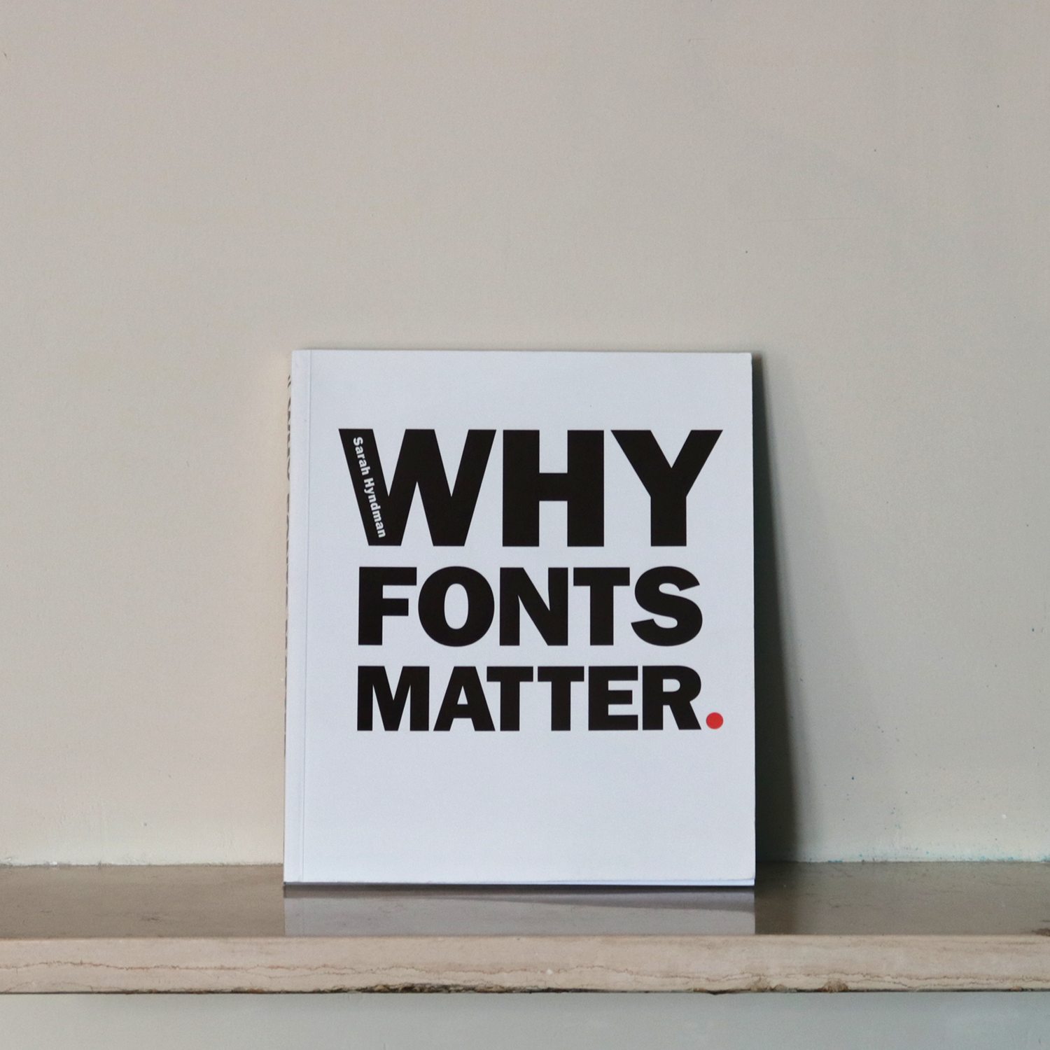 Why fonts matter.