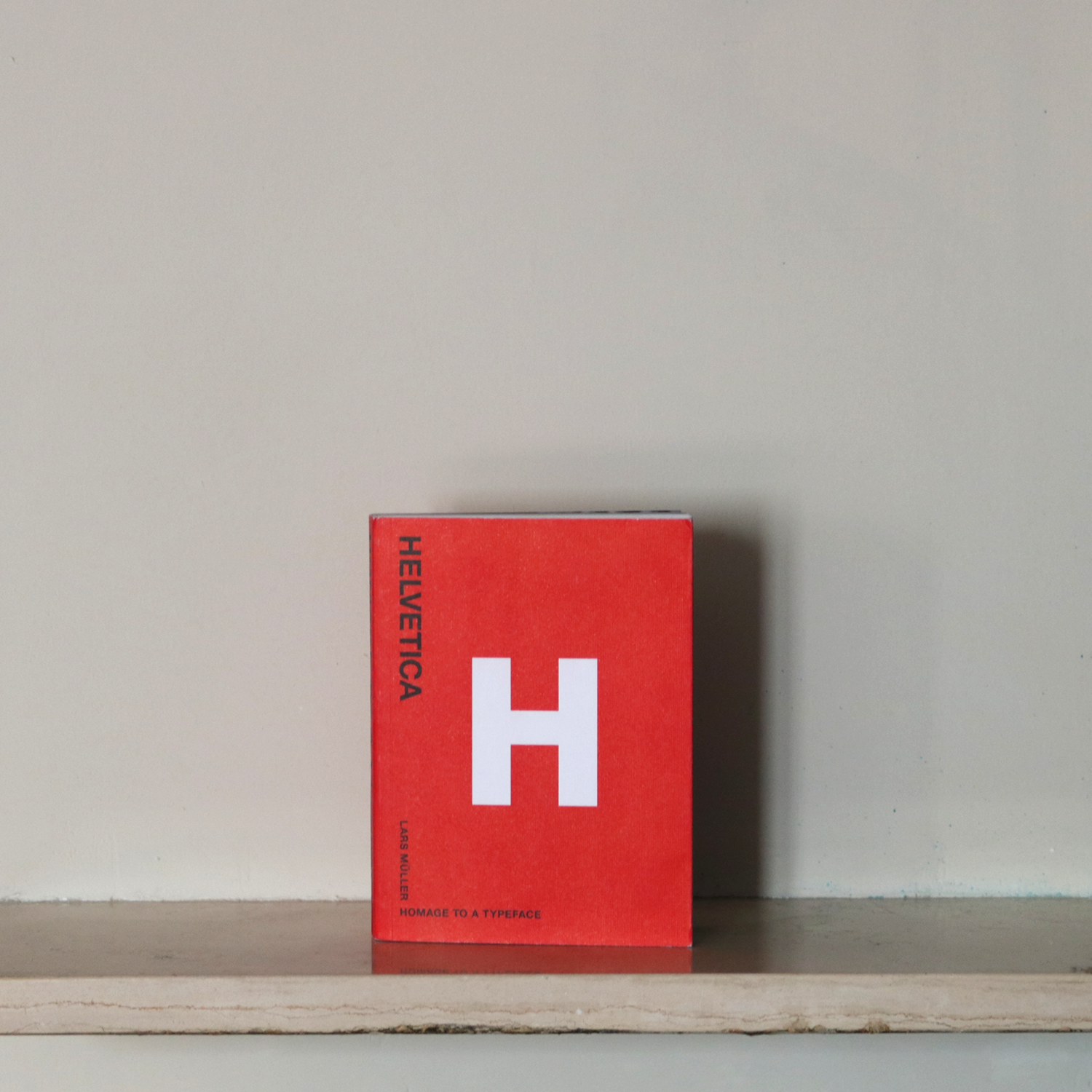 Helvetica, homage to a typeface