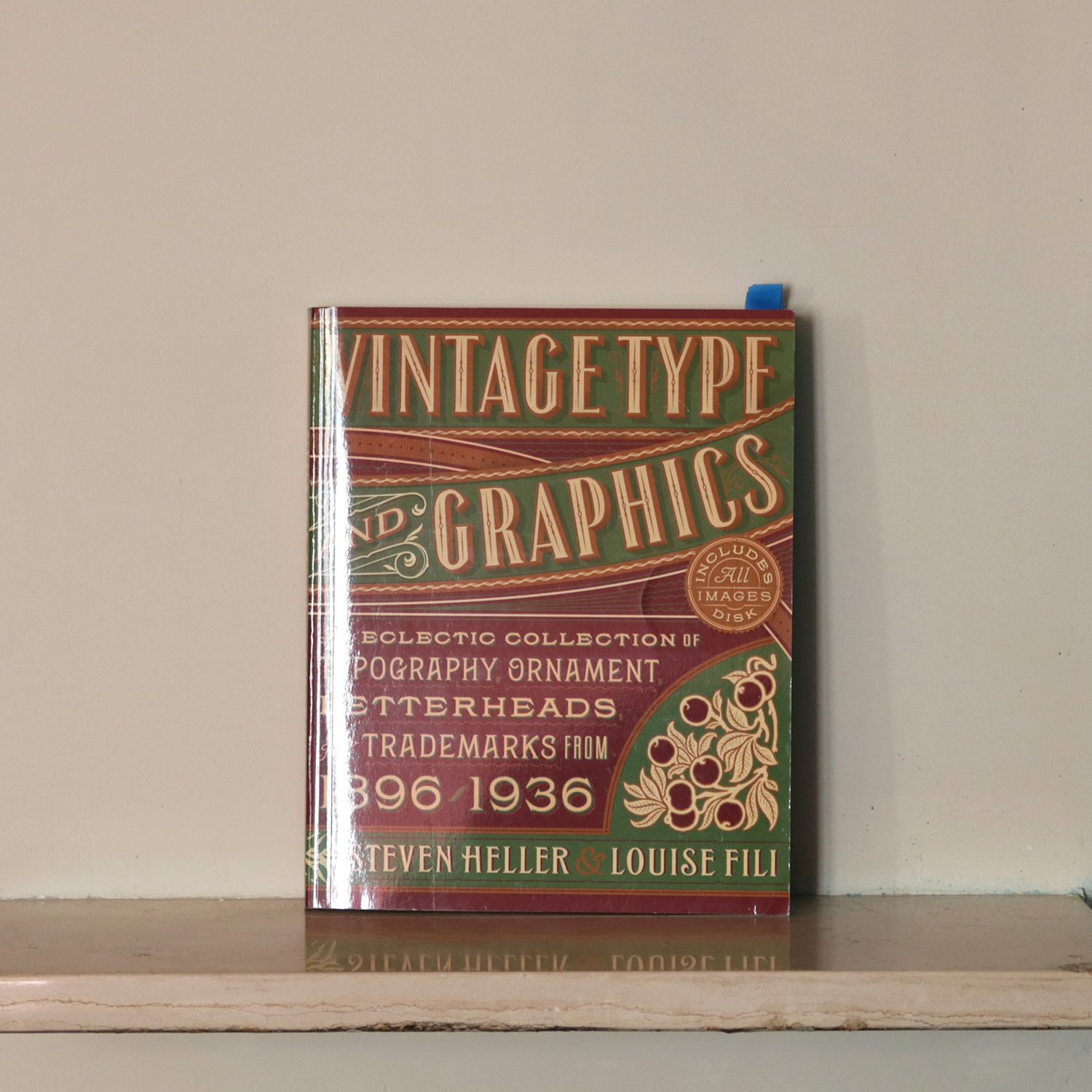 Vintage type and graphics 1896-1936
