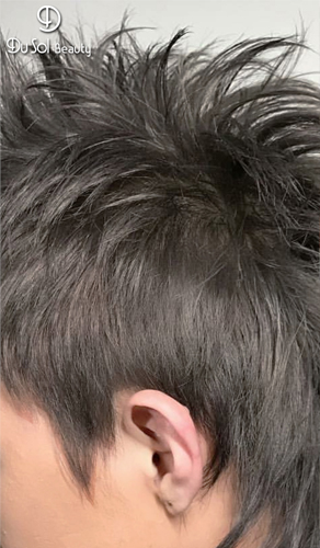 MEN'S K-STYLE     HAIR-CUT + CLASSY PERM