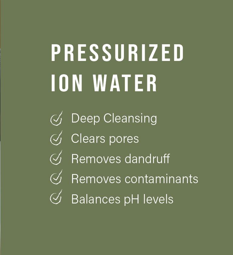 Chanamu Scalp Therapy Pressurised Ion Water Benefits