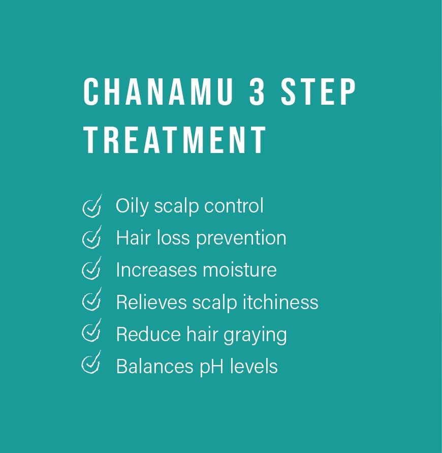 Chanamu Scalp Therapy 3 stem treatment
