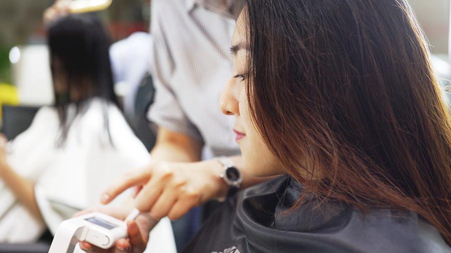 Scalp consultation with Vivian Nam, DuSol Beauty Novena