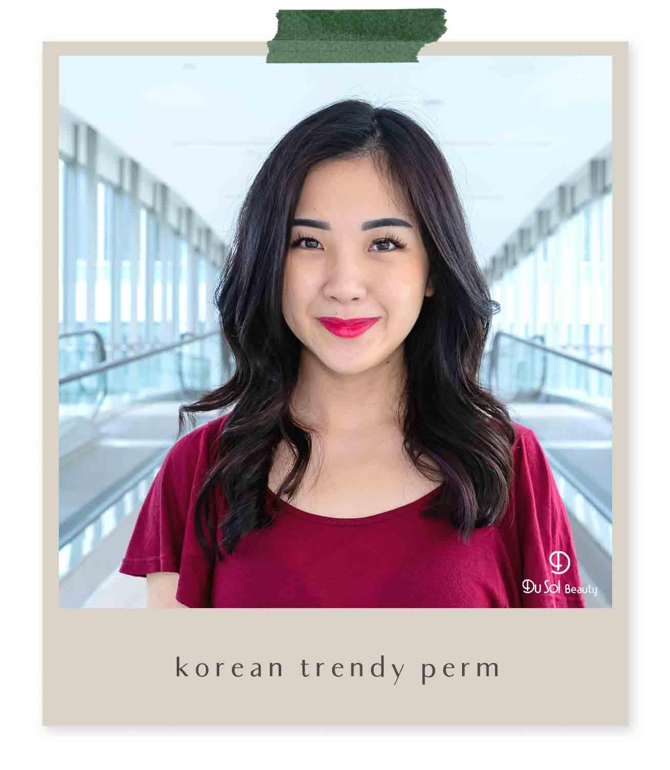 Korean Trendy Perm (S-Curl)