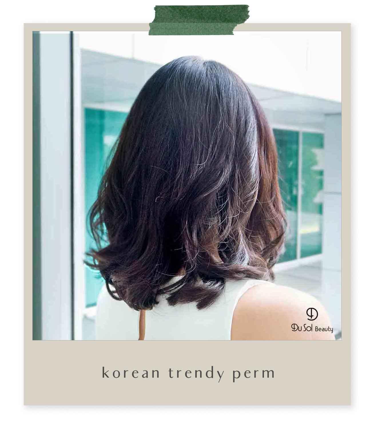 Korean Trendy Perm
