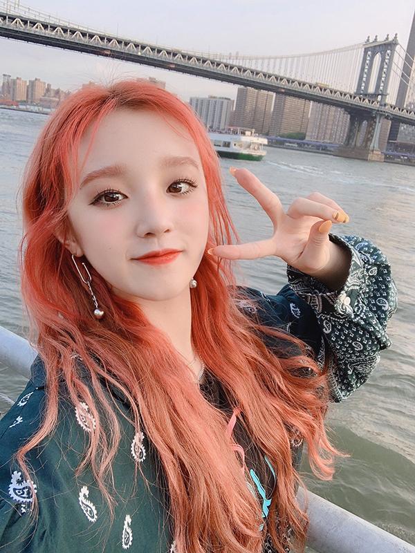Yuqi, member of (G) iDLE, rising South Korea rookie girl group