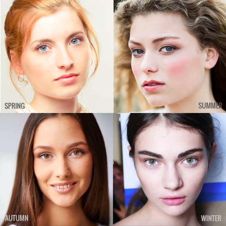These are some of the examples of people with different skin tones!