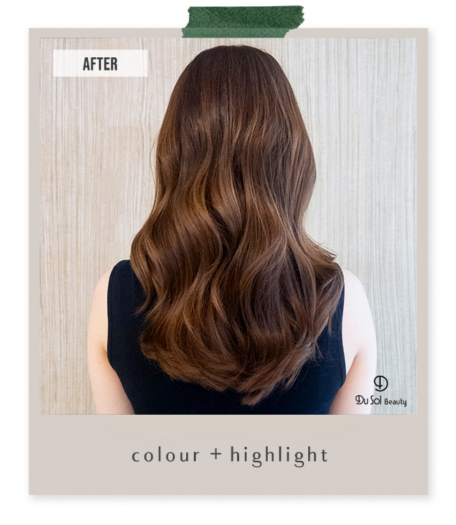 Colour and Highlight by Lizzy Kwon from DuSol BeautySG Novena
