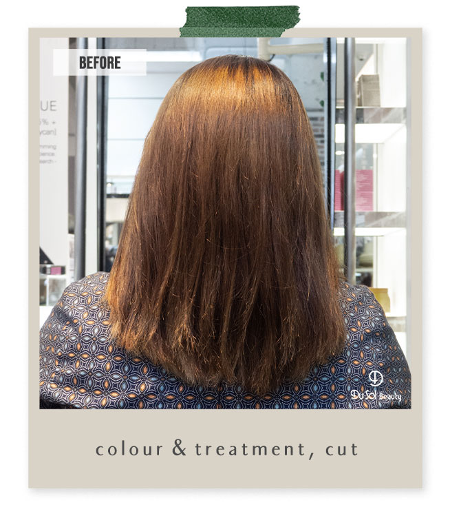 Colour, treatment and hair cut by Matthew from DuSolBeauty SG Novena Hair Salon Singapore