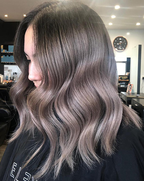 smokey ombre with shadow root with no bleach ultrafadebyrich