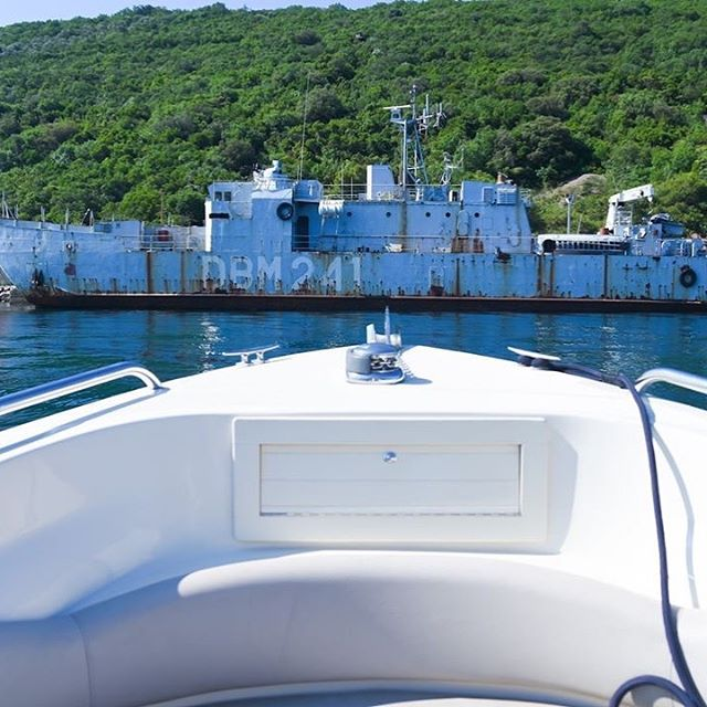 #montenegrofacts - did you know that Montenegro has many hidden military secrets all over the country, especially in the Bay?  For information about bookings please contact us at info@mwtribs.com or visit our website at www.watertaxi.info ___________________  #montenegro #mwtribs #portomontenegro #wildbeauty #budva #svetistefan #charter #yachting #boatcharter #adventure #discovery #speedboat #watertaxi #bokabay #tours #lovemontenegro #summerfun #explore #oldtown #island #amanresort #oldtownwalls #unesco #mwttour #speedboats #ribcharter #boat