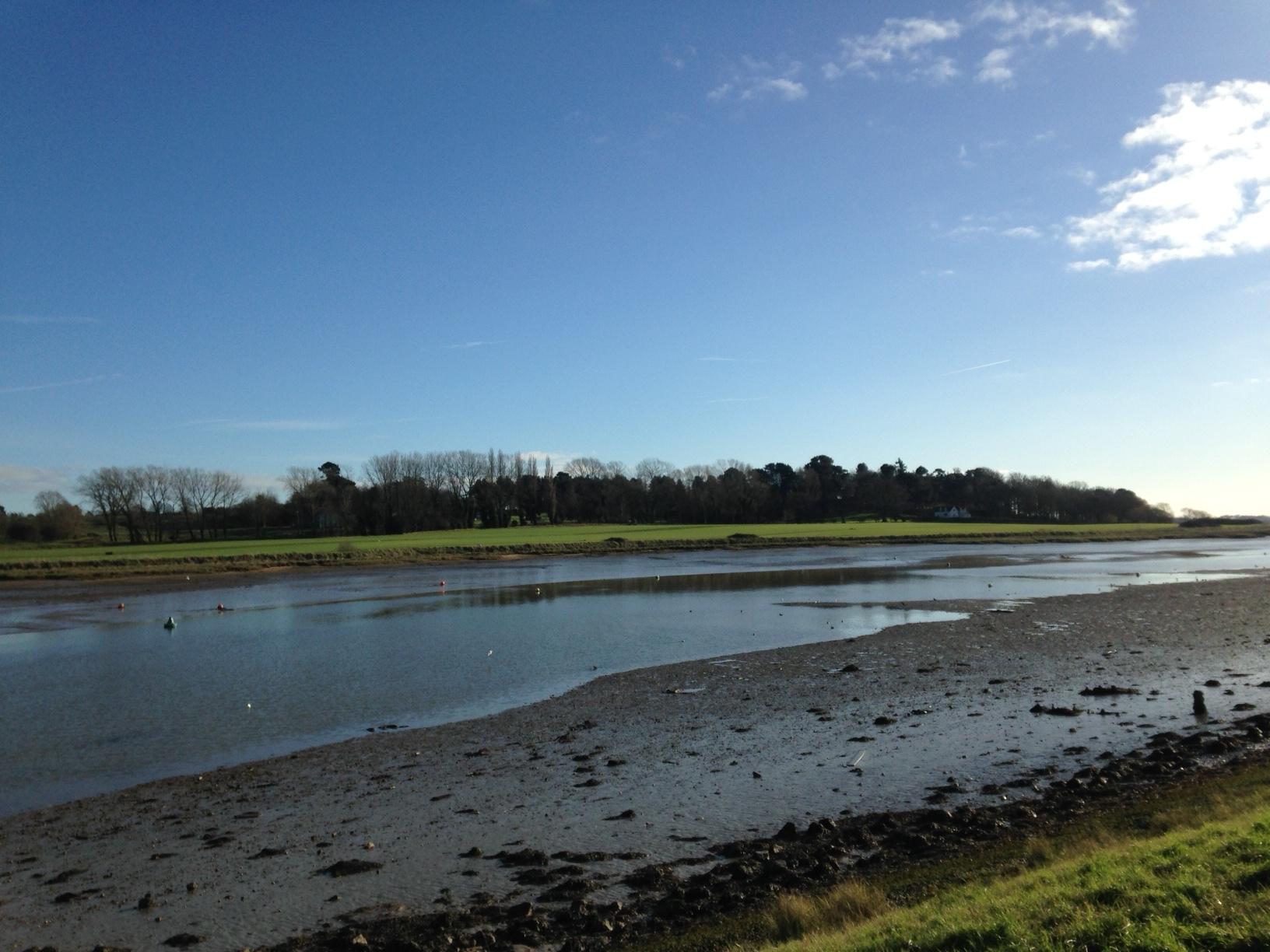 The beautiful River Deben at Woodbridge