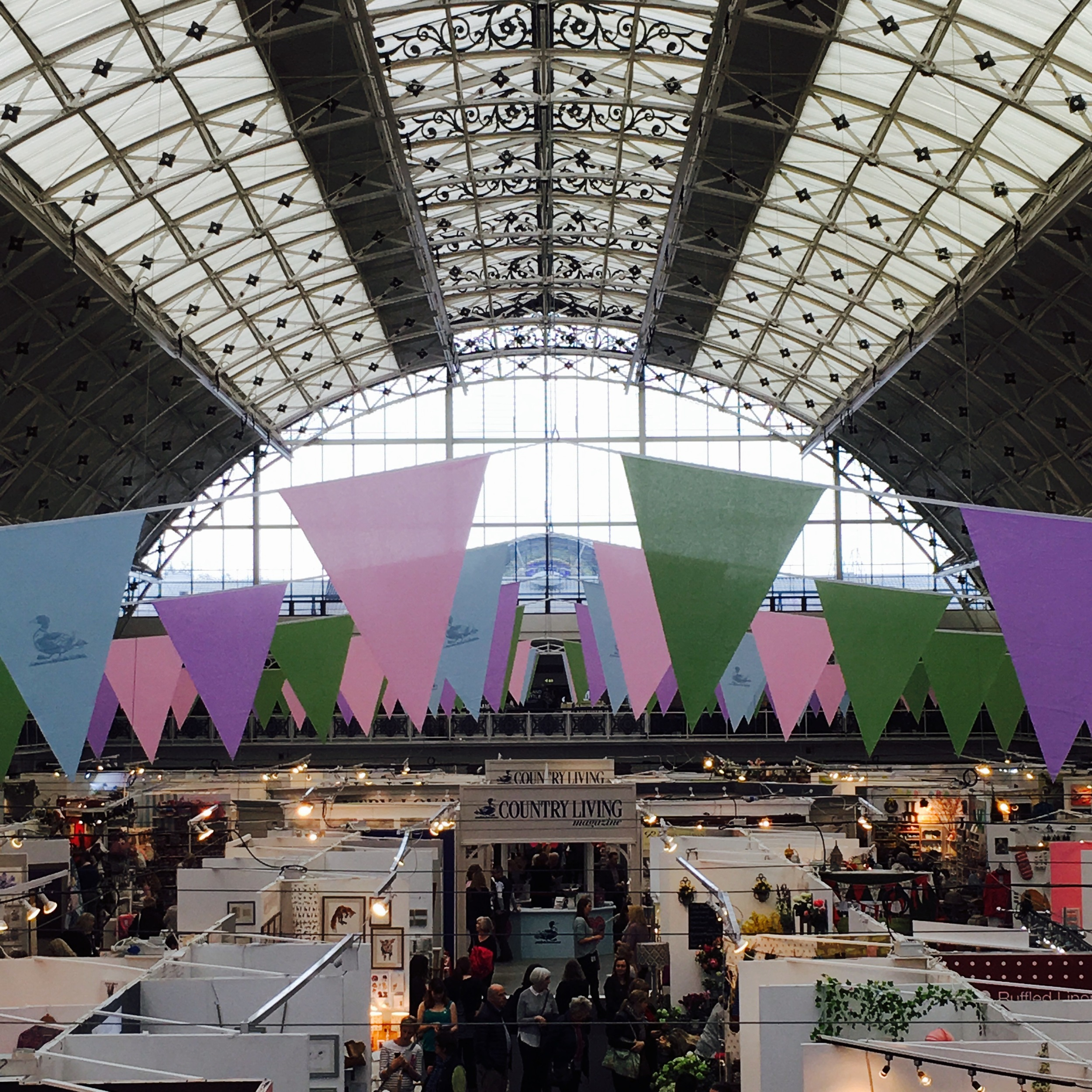 The Country Living Spring Fair takes place at the grand Business Design Centre is Islington, North London.