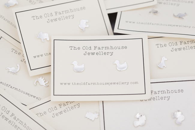 Sterling silver earrings from The Old Farmhouse Jewellery