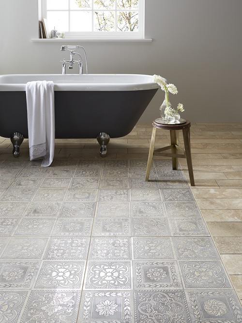 CASPARI Antiqued Silver tiles, £62.99 per tile - Topps Tiles