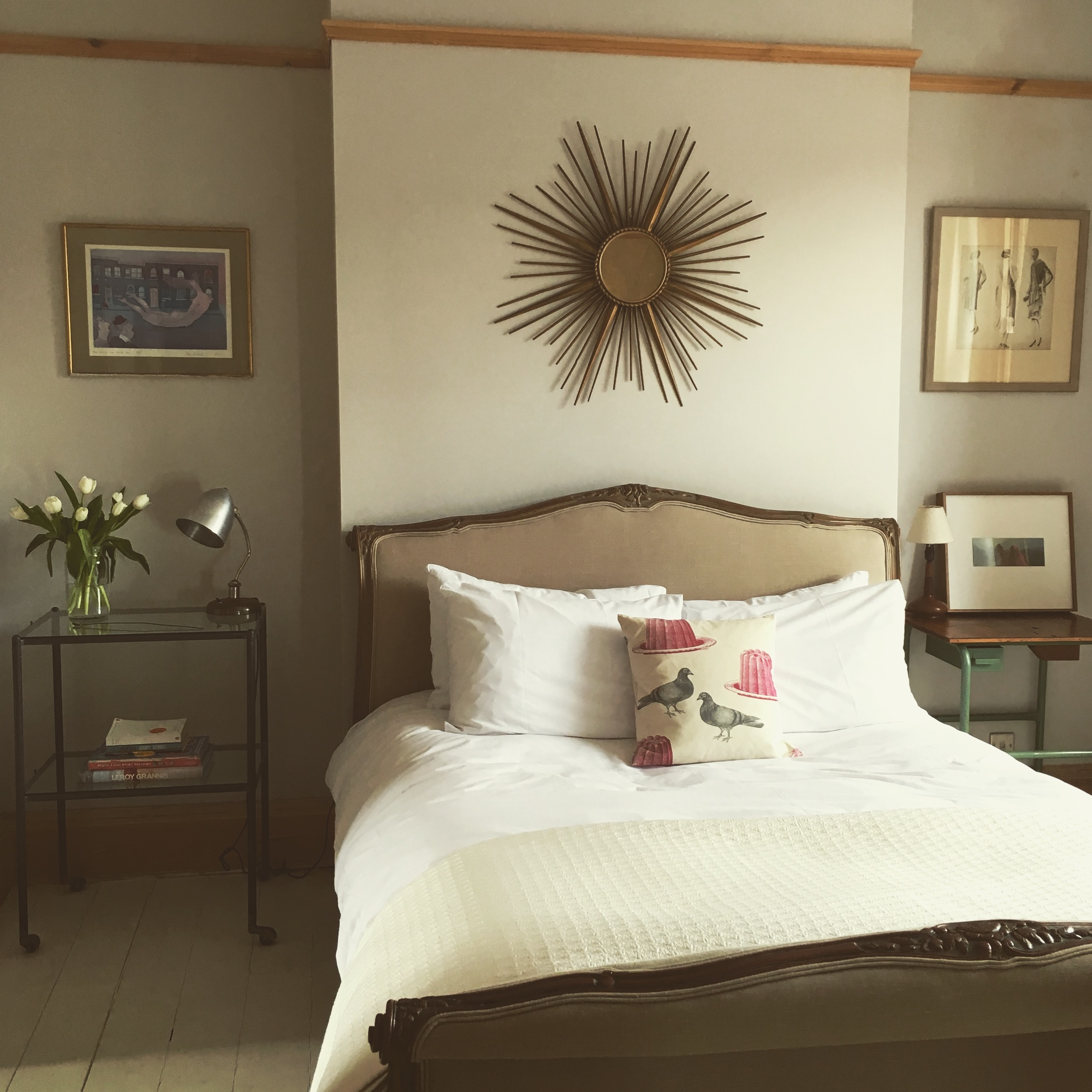 The master bedroom at  Neverland , Shepherd's Bush - one of Plum's newest additions and styled by yours truly!