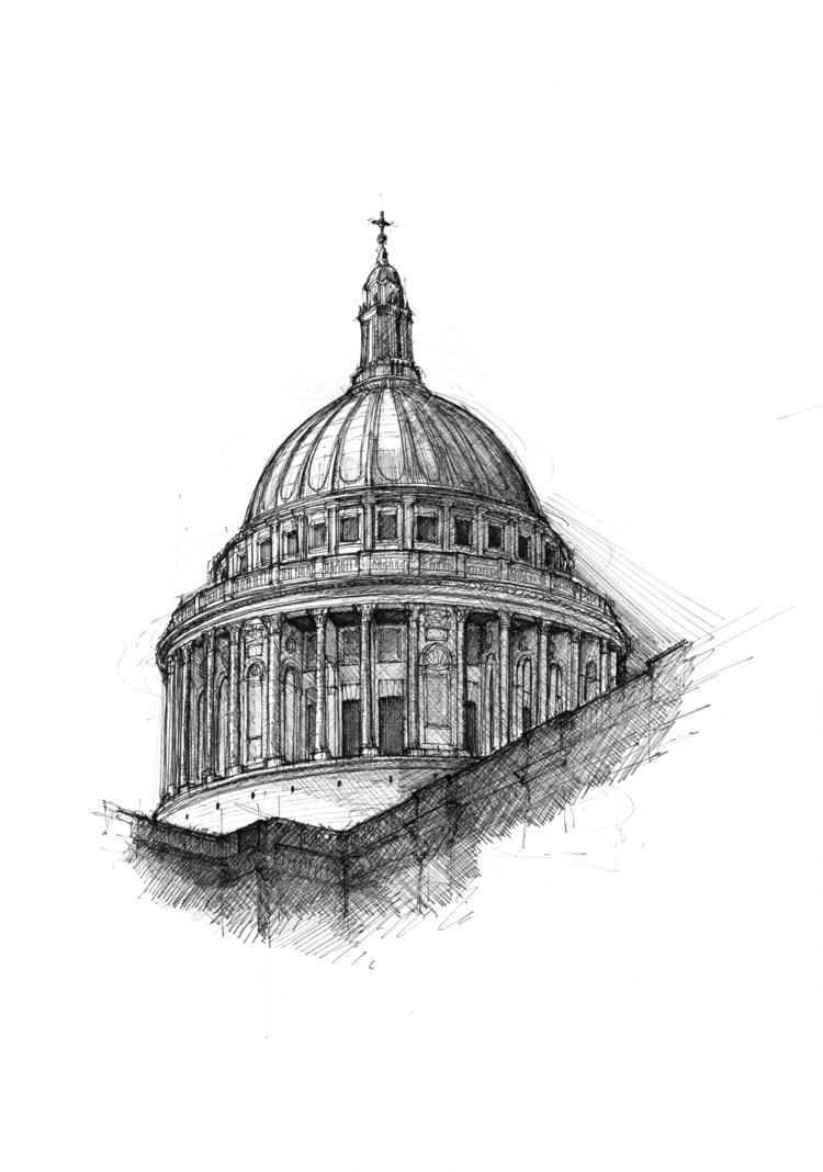 'St Paul's' © Luke Adam Hawker