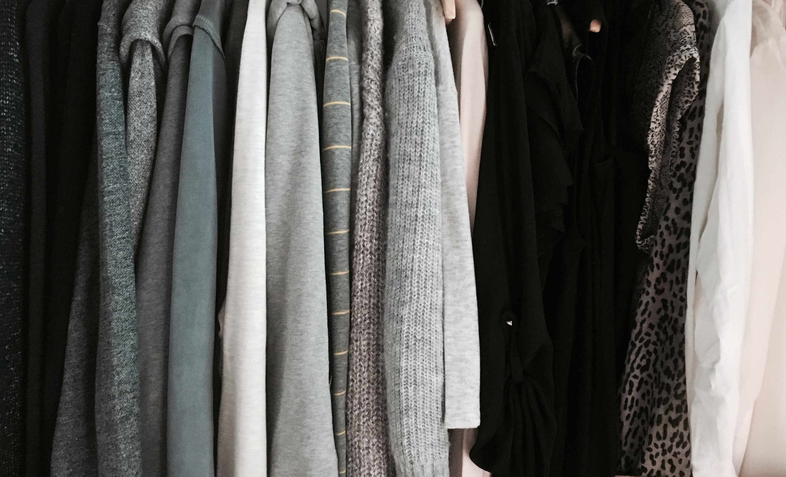 How many grey jumpers is too many?