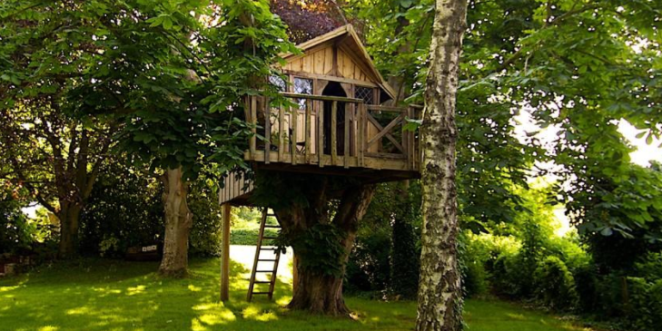 Kids will love this treehouse!