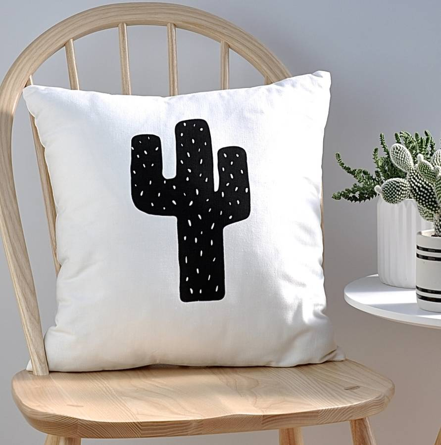 Native Cactus print cushion by Nomadic Being, £30 - Notonthehighstreet