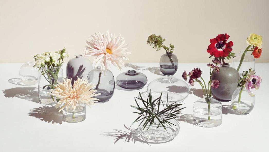 Arket's glassware range features simple, mouth-blown pieces.