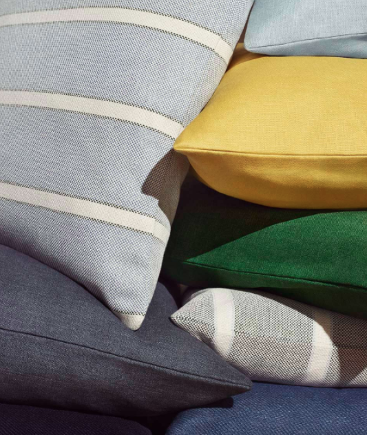 Linen and cotton cushion covers, from £12.