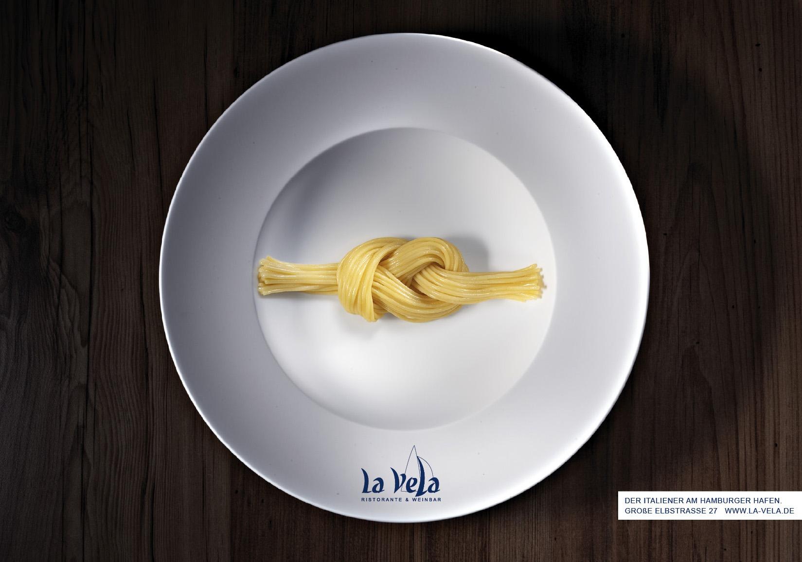 La Vela Ristorante - Achterknoten - Plakat 1