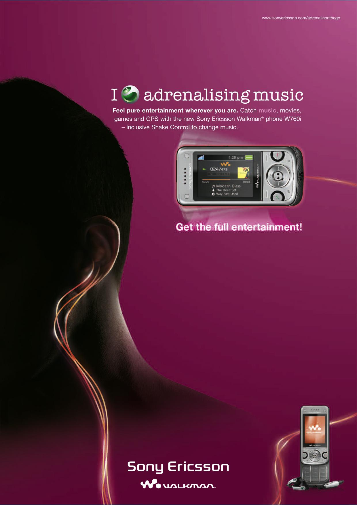Sony Ericsson POS Plakat 2