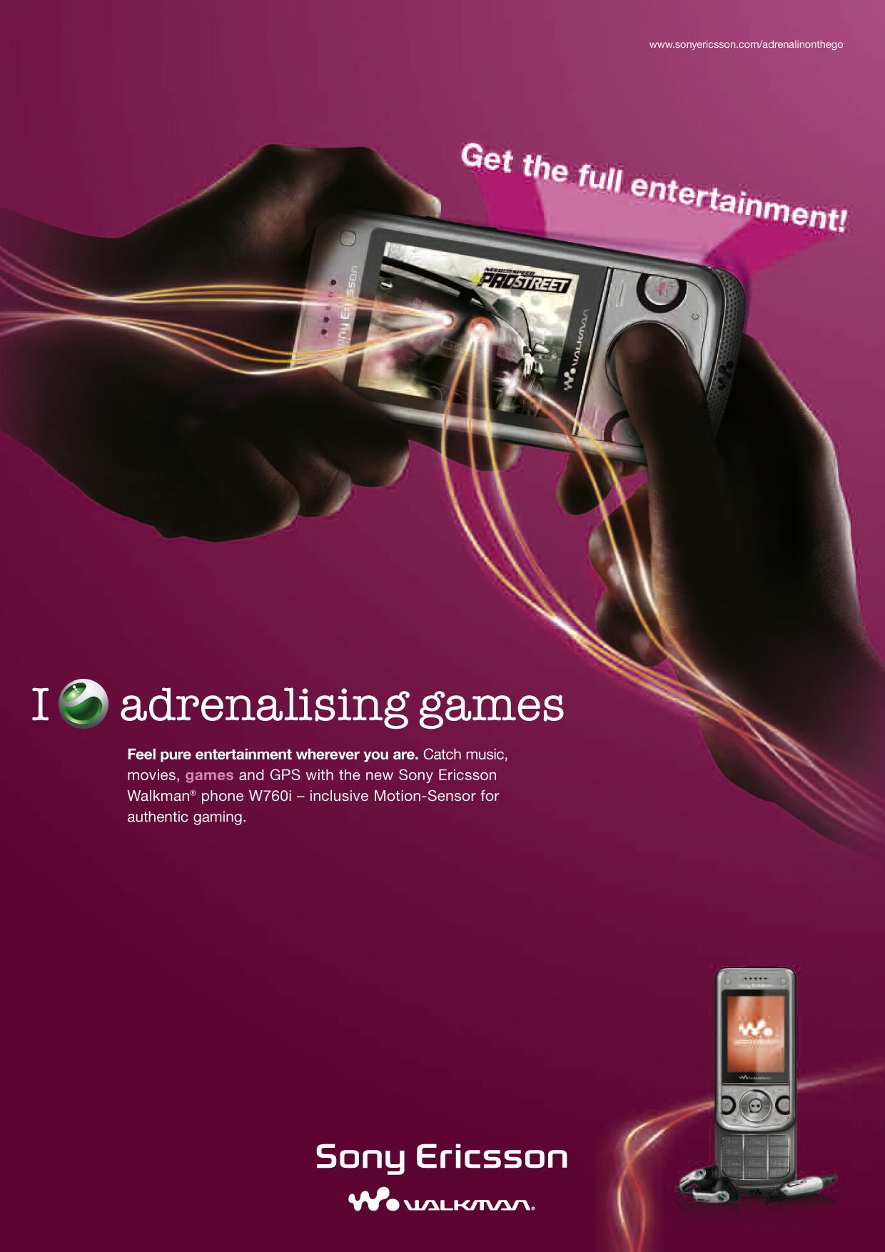 Sony Ericsson POS Plakat 3