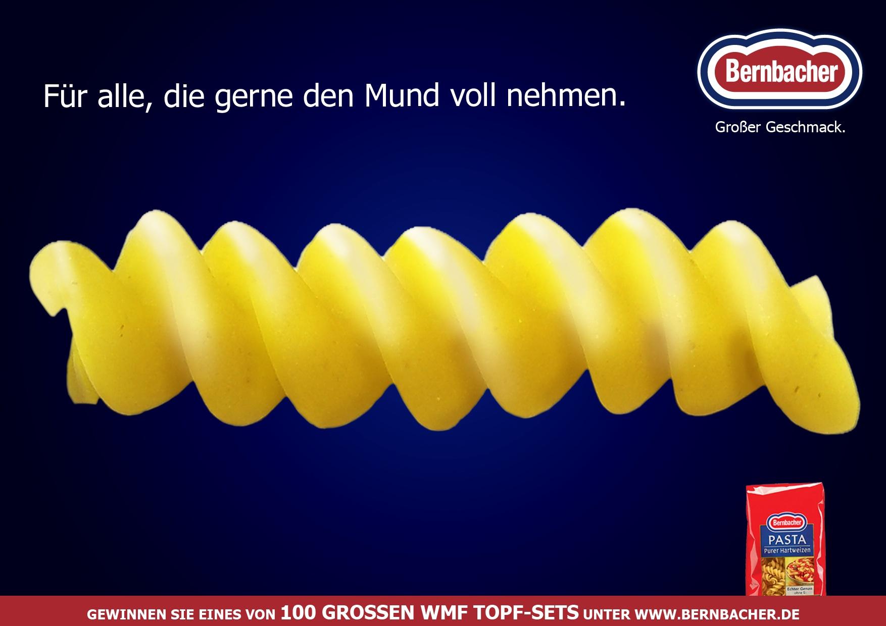 Bernbacher - Plakat 1 Fusilli