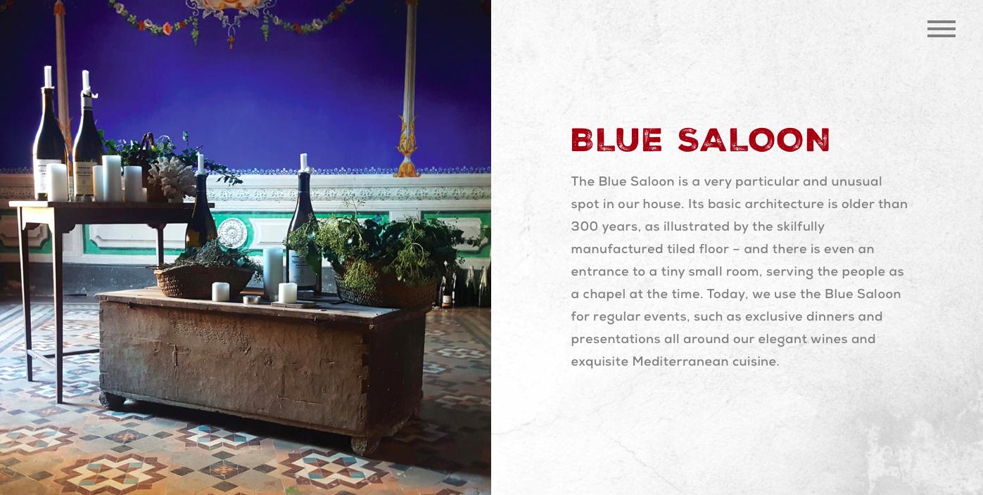Cal Compte Blue Saloon
