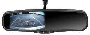 Make driving and parking safer and easier by installing a backup camera and/or a blind-spot camera.